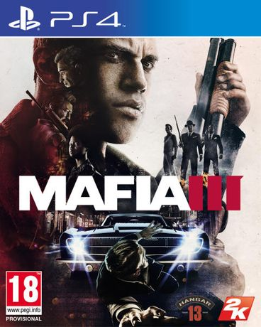 Mafia III / PS4 / Игра / Нова / Playstation4 / TV