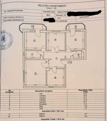 Apartament de vânzare cu 4 camere Navodari