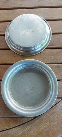 2 scrumiere din alpaca perioada interbelică