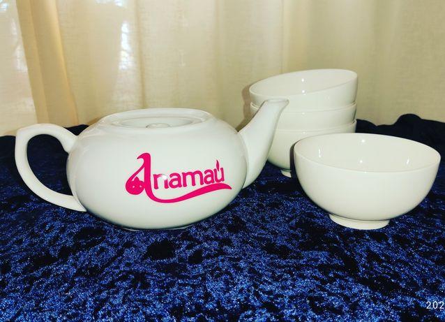 Набор чайник и кесешки