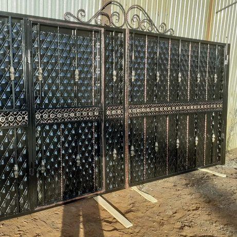 Ворота на заказ  быстро и качественно