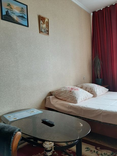 1 комнатная квартира сдаётся по часам, на ночь
