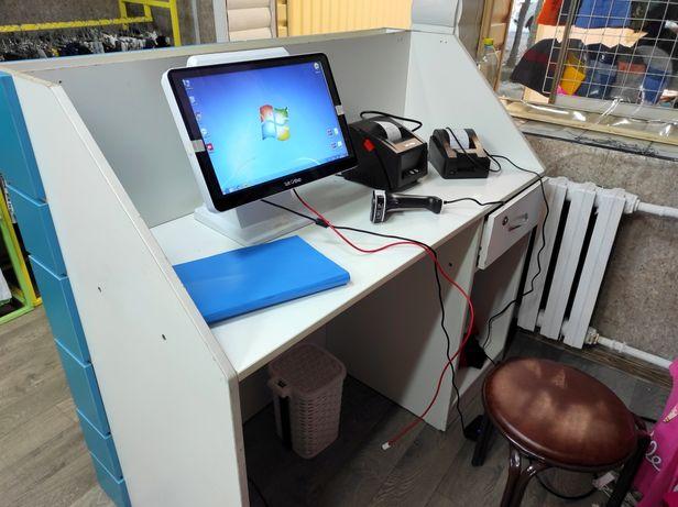 Моноблок, принтер чеков, принтер этикеток, сканер, Автоматизация бизне