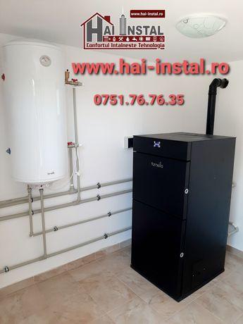 Centrale peleti termoseminee peleti comercializare montaj autorizat