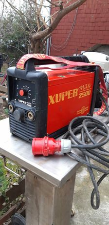 Aparat sudură invertor Xupermax 2500 powerful 250A MMA and Tig dc