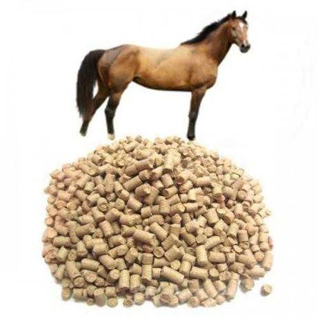 Комбикорм КК-73 для откорма лошадей