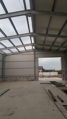 Vand hala metalică 11,80x30 completă cu proiect si arhitectură