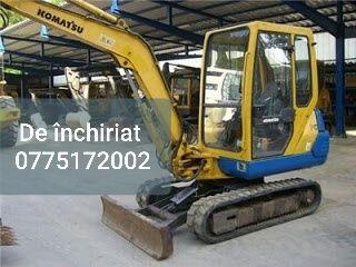 Inchiriez excavator miniexcavator buldoexcavator sapaturi