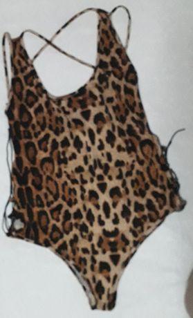 costum de baie leopard animal print XL