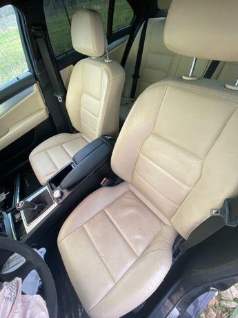 Scaun stanga dreapta + bancheta Piele crem Mercedes C320 CDI W204 2009