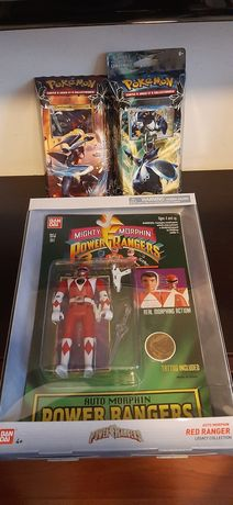 Power Rangers si cartonase Pokemon