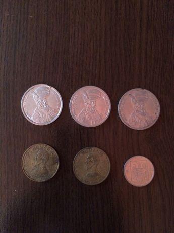 Monede 100 lei, 50 lei, 5 lei