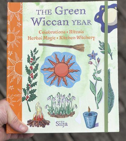 Anul verde Wiccan-Enciclop vraji superb ilustrata,cartonata,ritualuri