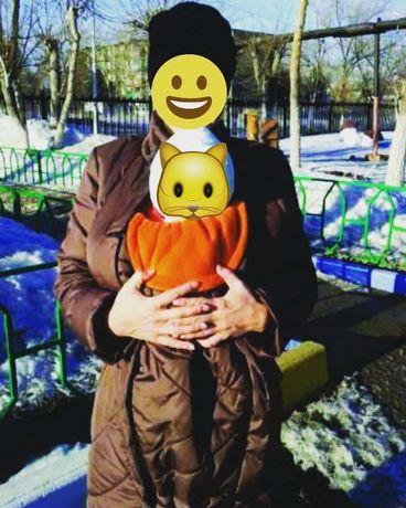 Слингокуртка для беременных и кормящих куртка-слинг