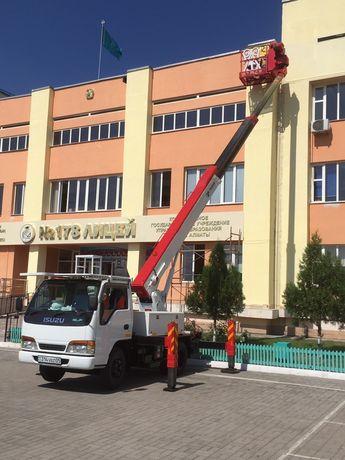 Автовышка кобра АГП в Алматы от 5990 А пoчемy тaк дoрого? Скажите Вы.
