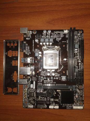 Материнская плата Gigabyte Ga-H110M-S2 DDR4 (6-7 gen)