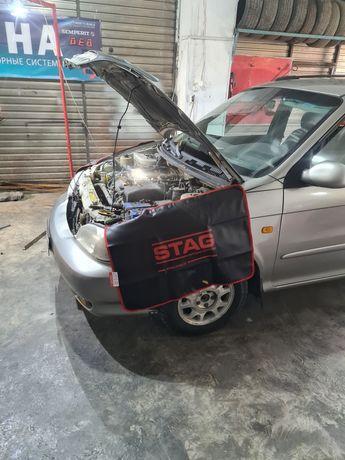 Установка ГБО (газобалоннго оборудования на автомобили)
