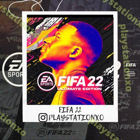 FIFA22 Запись Цифровых Игр Playstation PS5 PS4 фифа22