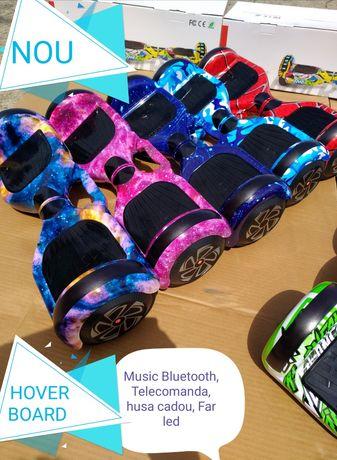 Hoverboard Nou Roz camouflage 6,5 Led