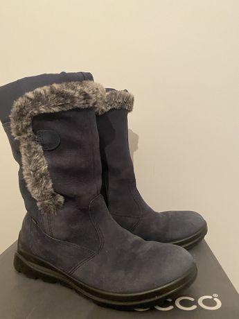 Ecco обувь зима подростковая