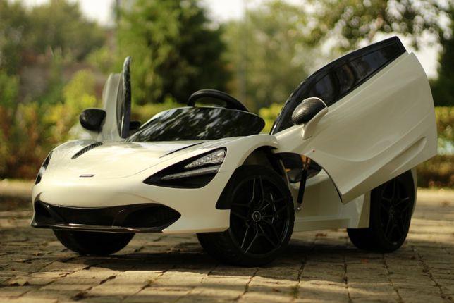 Masinuta electrica pentru copii McLaren 720s 2x35W 12V #Alb