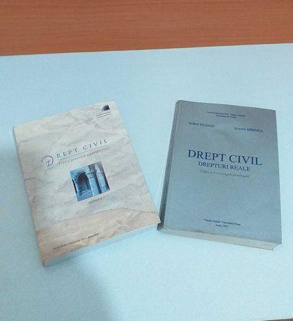 2buc Cartii Drept Civil 2007-2008, pretul 15 lei amindoua!