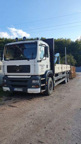 Vând camion MAN TGA 26.313 cu macara palfinger PK12000