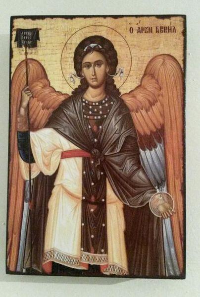 Икона на Свети Архангел Гавраил icona Sveti Arhangel Gavrail гр. Пловдив - image 1