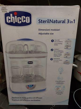 Chicco Електрически дигитален стерилизатор 3 в 1