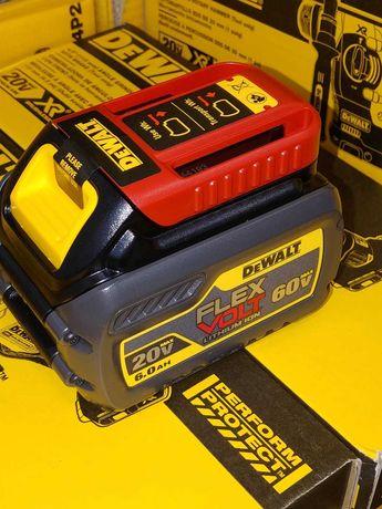 Батерии DeWALT Девалт Деволт 20V 18V 54V 60V 2ач,3ач,4ач,5ач,6ач,9ач