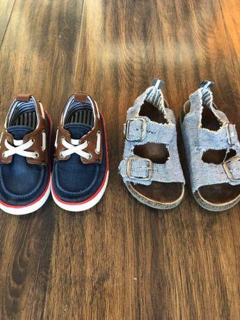 Детски обувки, гуменки НМ и сандалки Некст 22 номер