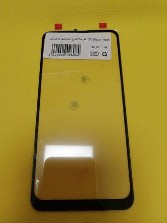 Стъкло за Samsung Galaxy A10s Black черен