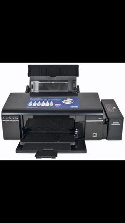 Epson 805 цветной принтер.