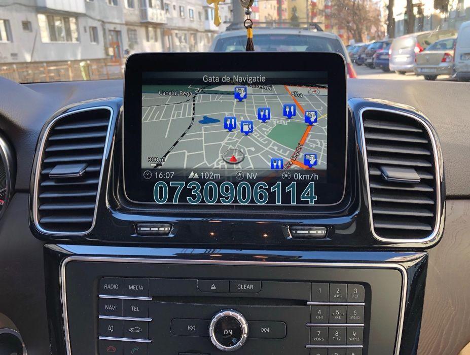 Card Mercedes Garmin A B C CLA CLS E GL GLE GLC Harta Navigatie 2020 Timisoara - imagine 1