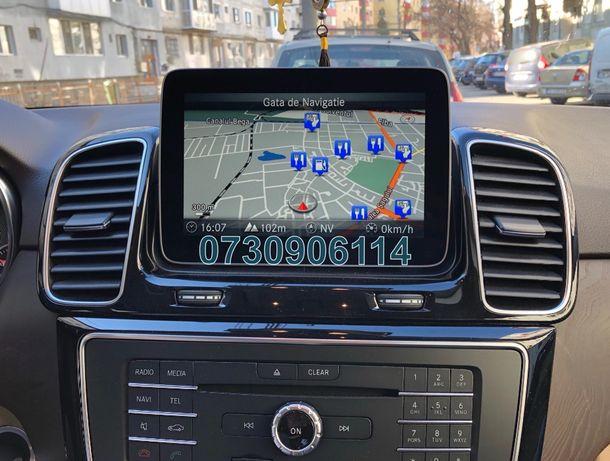 Card Mercedes Garmin A B C CLA CLS E GL GLE GLC Harta Navigatie 2020