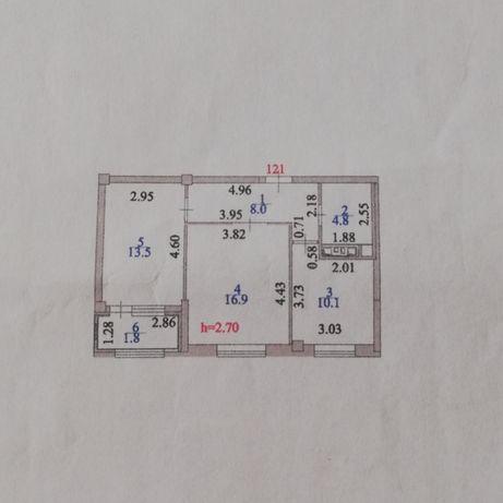 Продается 2-х комнатная квартира в ЖК «Камал-4»