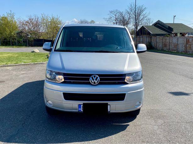 Inchiriere auto microbuz VW Caravelle 8+1(9)locuri, transport persoane