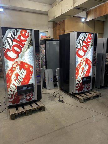 Хладилен вендинг автомат за кенове и бутилки Некта Зета, гаранция