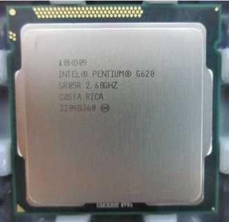 Процессоры pentium (10шт) G620, 630, 640, 645, 2010, 2020 LGA-1155