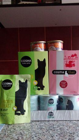 Conserve i/d pisici si conserve carne