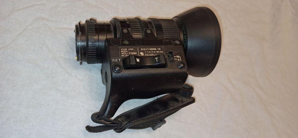 Obiectiv camera video Fujinon VCL-712BX S12X7.5BRM-18 Bucuresti - imagine 1