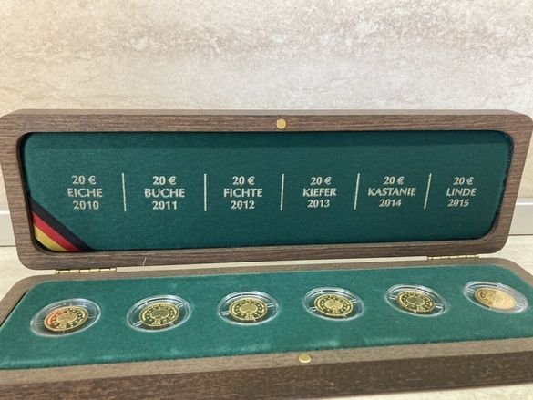 Златен сет монети 24K