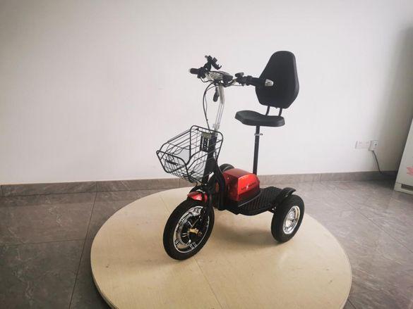 MaXmotors Електрически Скутер Триколка 500w RED ALLROAD