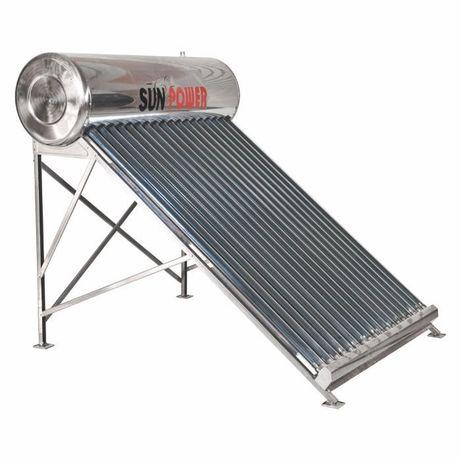 Panou solar nepresurizat boiler inox 120 l