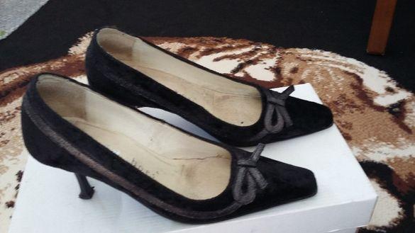 Обувки ЕСТЕСТВЕНА кожа и декорации №35 -Билиа шоис България