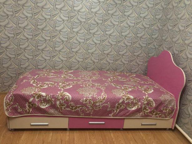 Кровать Розовый комплект Детский Стол