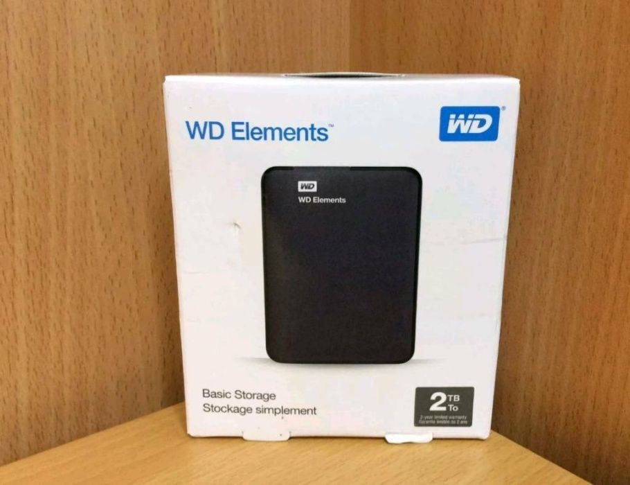 WD Elements 2tb Hard disk extern portabil hdd 2tb NOU