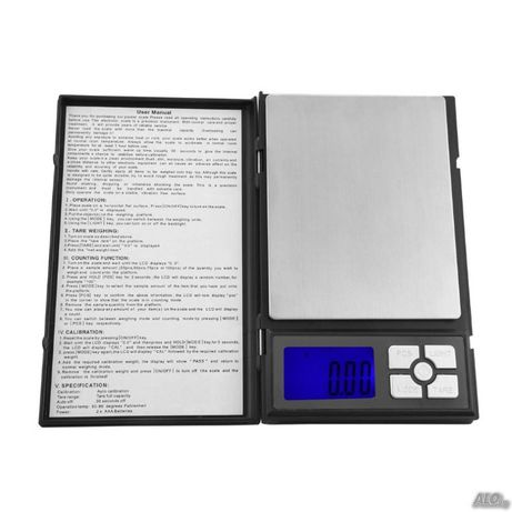 Прецизна електронна везна Notebook scale