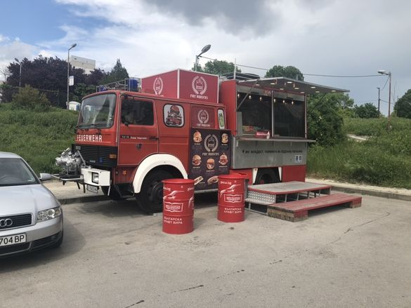 пожарна каравана бързо хранене