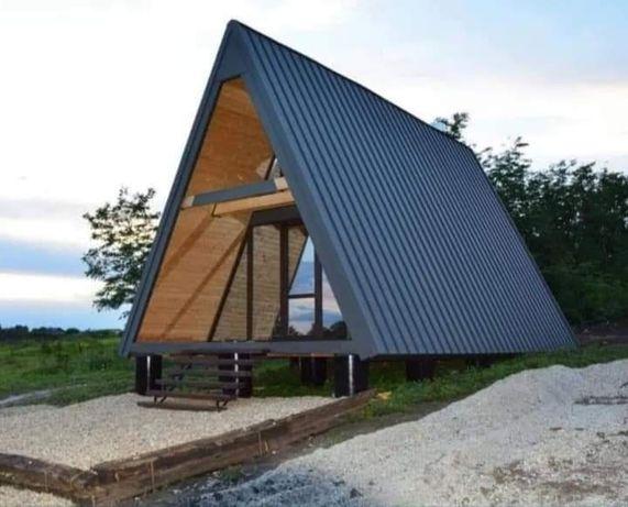 Vând casă din lemn orce dimensiuni ori unde în țară